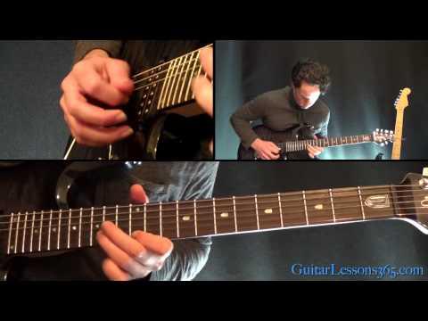 Rock You Like a Hurricane Guitar Lesson - Scorpions - Main Solo