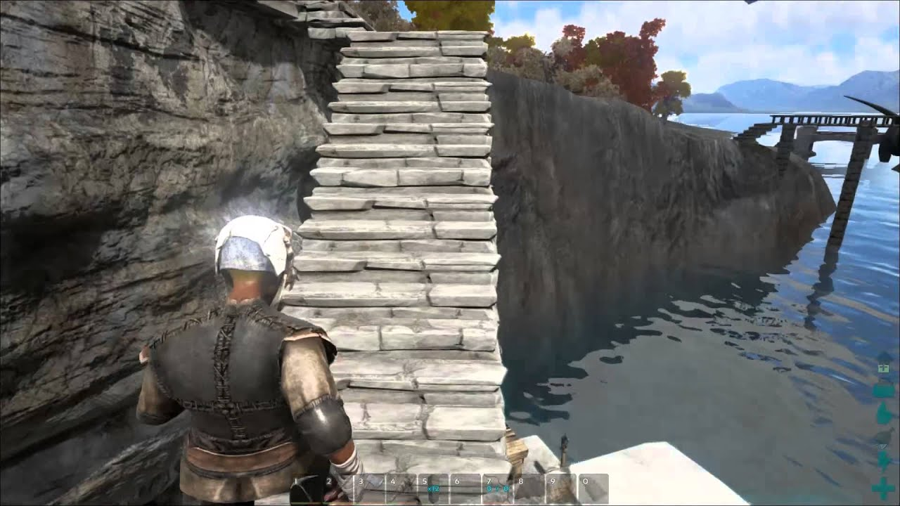 Ark: Survival Evolved Ep 12 Complex Stairs