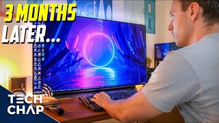 Switching to a 48-inch 4K OLED TV as a Monitor - 3 MONTHS LATER! | The Tech Chap