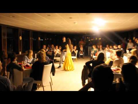 Bosphorus dinner cruise belly dance