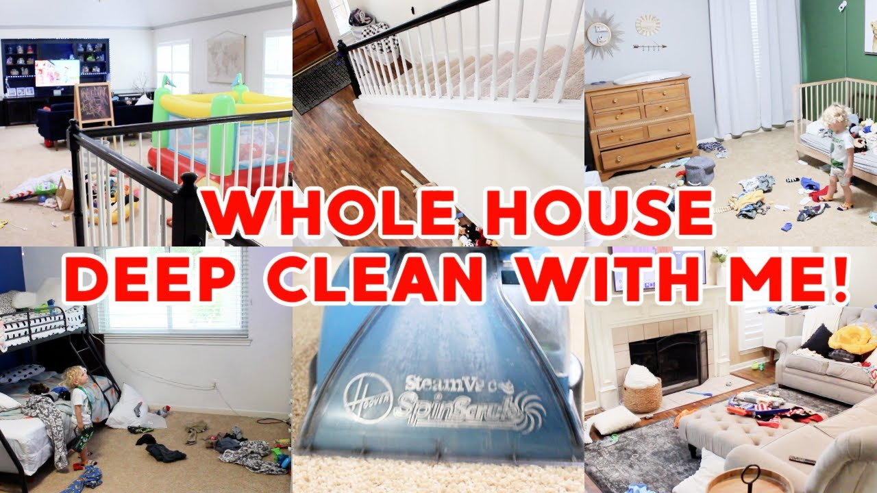 *HUGE* EXTREME WHOLE HOUSE CLEAN WITH ME 2021! SPEED CLEANING MOTIVATION! CLEANING ROUTINE! SAHM