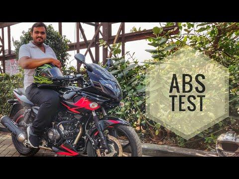 2019 Bajaj Pulsar 220F | ABS TEST | Detail review