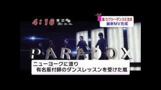 嵐-『P・A・R・A・D・O・X』 PV フル