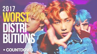 [ TOP 16 ] WORST Kpop Line Distributions of 2017 ( CountDown ) - Stafaband