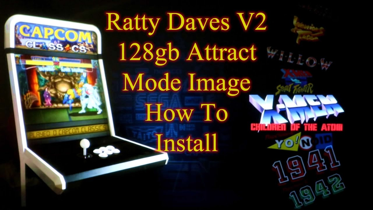 Ratty Daves 128gb Attract Mode Image - RetroPie - 10,000+ Games