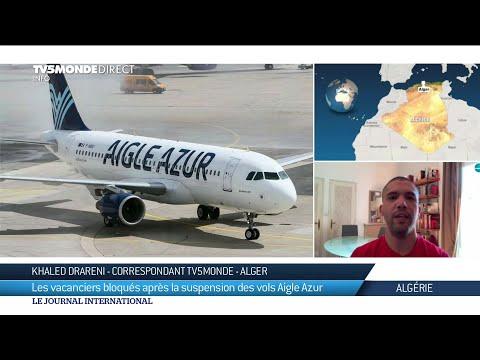 Aigle Azur suspend ses vols : réactions en Algérie