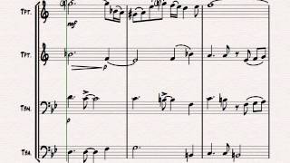 Libertango (short) - Astor Piazolla - Tango Nuevo - Brass Quartet Resimi