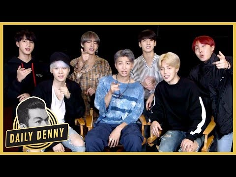 BTS on Dating and What True Love Means to Them | Daily Denny EXCLUSIVE