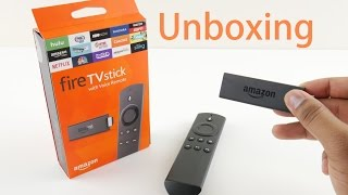 Unboxing Fire TV Stick 2015 and firt look