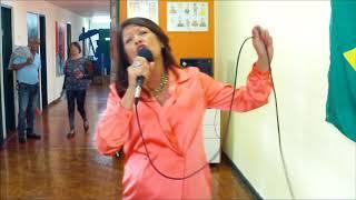 24 Dois Amigos - Julio Iglesias - versão cover de Elida Souza Cardoso - 96º Edi. Café com Poesia