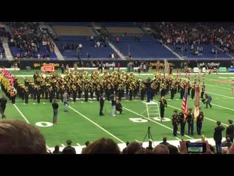 National anthem @ Army All American Bowl