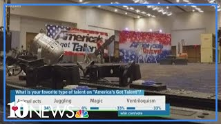 America's Got Talent starts setting up for Thursday's auditions