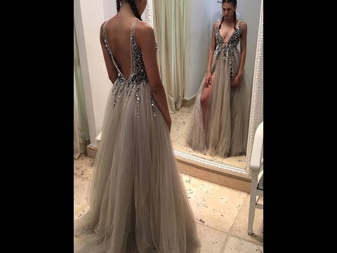 2018-a-line-v-neck-tulle-long-prom-dress-with-paillette---hebeos