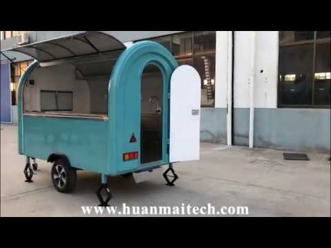 mobile food truck/catering trailer/food van/food trailer