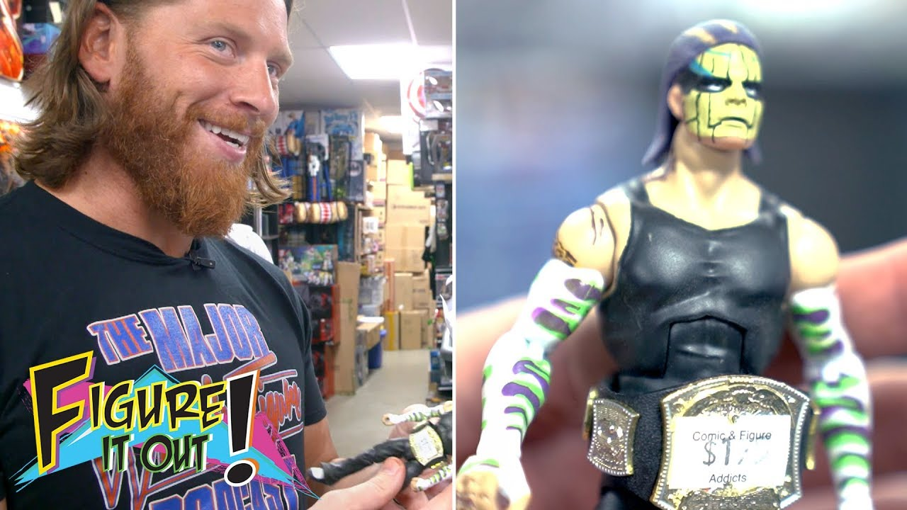 Is this rare Jeff Hardy figure a bootleg?: Zack & Curt Figure It Out