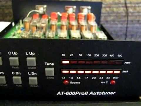 ldg at-600 proII antenna tuner inside work