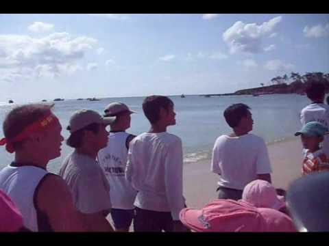 Đảo Phú Quý- Đua thuyền