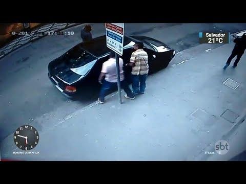 Membros de bando especializado em roubar casas de câmbio são presos | SBT Notícias (12/10/17)
