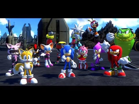 Sonic Forces Walkthrough [Stages 25-30] FINAL PART - Final Boss / Ending / Credits