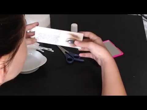 naomietest le blog jai test la coloration des cils et sourcils la maison - Coloration Sourcils Maison