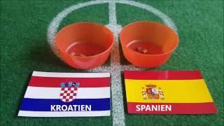 Emilias Fußball EM Tipp 2016 Kroatien : Spanien