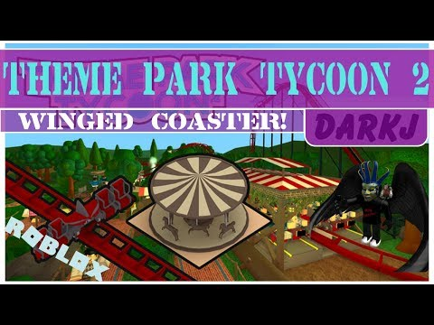 Theme Park Tycoon 2! The Winged Coaster!