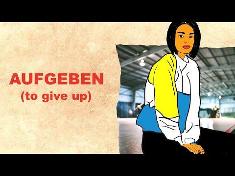 AUFGEBEN | MY GERMAN SHORT STORIES | LEARN GERMAN WITH STORIES