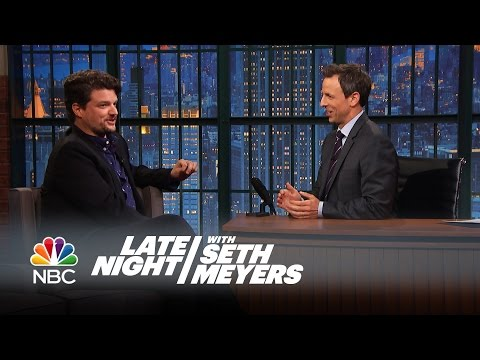 Matt Jones was a Five Year-Old Roller-Skating Champion - Late Night with Seth Meyers