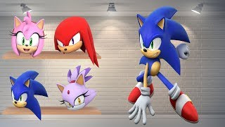 Sonic Wrong Head ✦ Funny Wrong Puzzles With Sonic ✦ Wrong Blocks Sonic Boom Puzzles