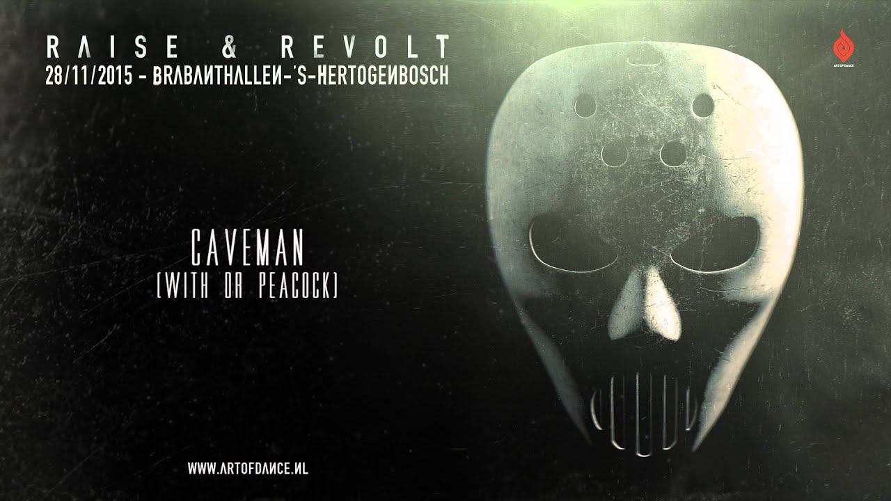 Caveman Questions : Angerfist & dr peacock caveman youtube