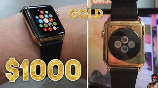 My Gold Apple Watch was $1,000