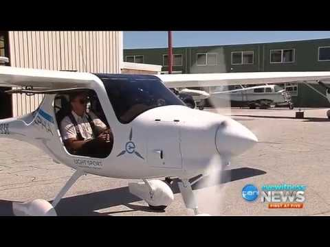 A Battery-Powered Electric Plane Just Had Its First Test Flight in Australia