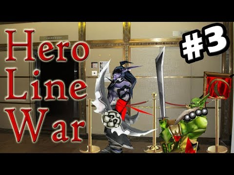 Warcraft 3 | Custom | Hero Line War #3