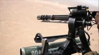 Helikopter Gatling Gun snelvuur GAU-17/EEN Minigun Schieten - Helikopter Deur Schutter Afghanistan