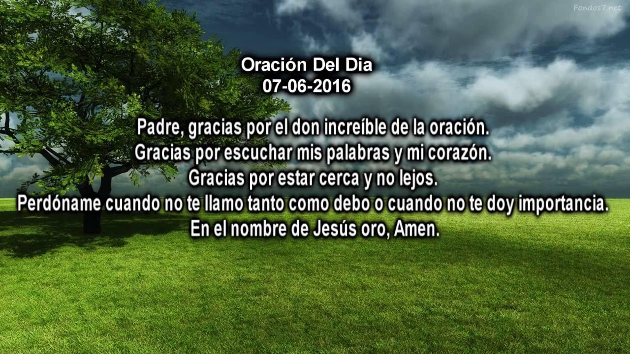 """Versiculos De La Biblia De Animo: Versiculo Biblico Y Oracion Del Dia """"Hoy 07-06-2016"""""""