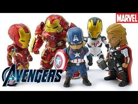 Đồ chơi siêu nhân | Bộ đồ chơi mô hình Avenger | Toy Reviews