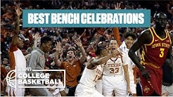 The best college basketball bench celebrations 2018-19 | College Basketball Highlights