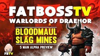 Warlords of Draenor Alpha: Bloodmaul Slag Mines - FATBOSS