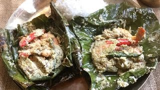Chingri Macher Paturi (2 types) | Steamed Prawn Paturi | Bengali Traditional Recipe - In Bengali