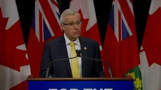Ontario's finance minister reacts to federal budget thumbnail