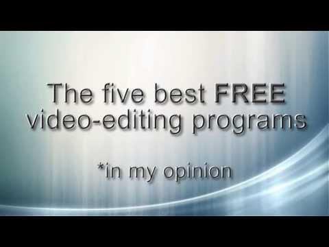 Best FREE video editing programs of 2016 - 2017