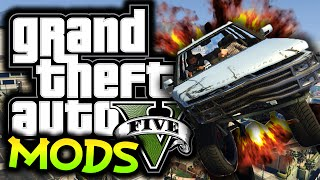GTA 5: Carmageddon Mod! - (GTA 5 Funny Moments w/ Mods)