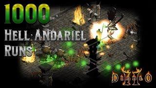 Diablo 2 - 1000 Andariel Runs - Did I drop a Stone of Jordan?