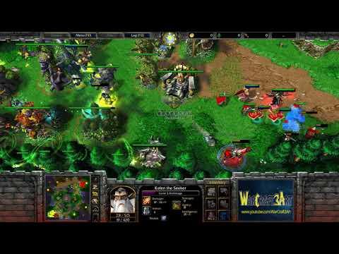 TH000HU vs LawlietNE  WarCraft 3 Frozen Throne  RN3500
