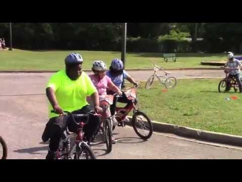 Bike Rodeo at Ebenezer Avenue Elementary School