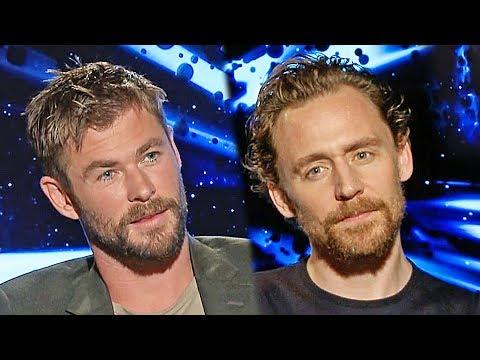 Thor 3 Ragnarok: Chris Hemsworth, Tom Hiddleston, Taika Waititi and more (2017)