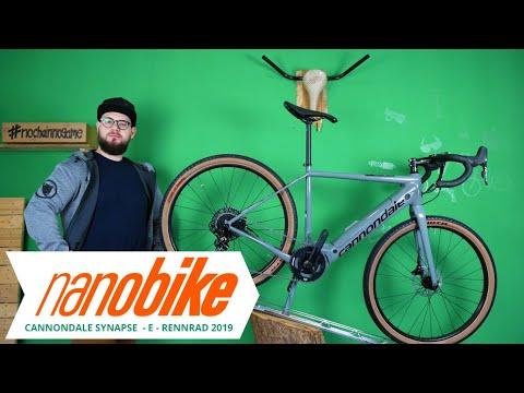 cannondale synapse neo se hybrid e rennrad 2019 review german youtube. Black Bedroom Furniture Sets. Home Design Ideas