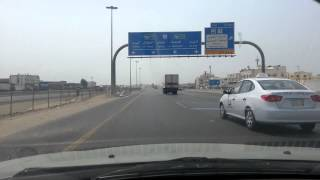 A Drive - from Home to Work - Jeddah - Saudi Arabia - 28 September 2012