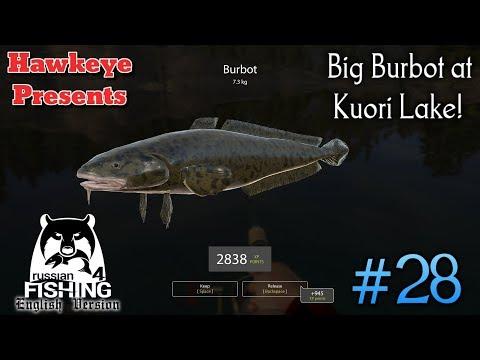 Russian Fishing 4 | ENGLISH | #28 - Big Burbot at Kuori Lake!