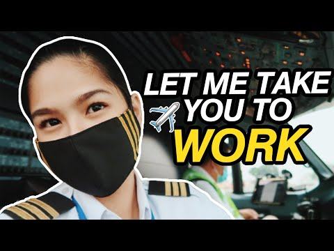 A DAY IN MY LIFE | COME TO WORK WITH AN AIRLINE PILOT IN A PANDEMIC